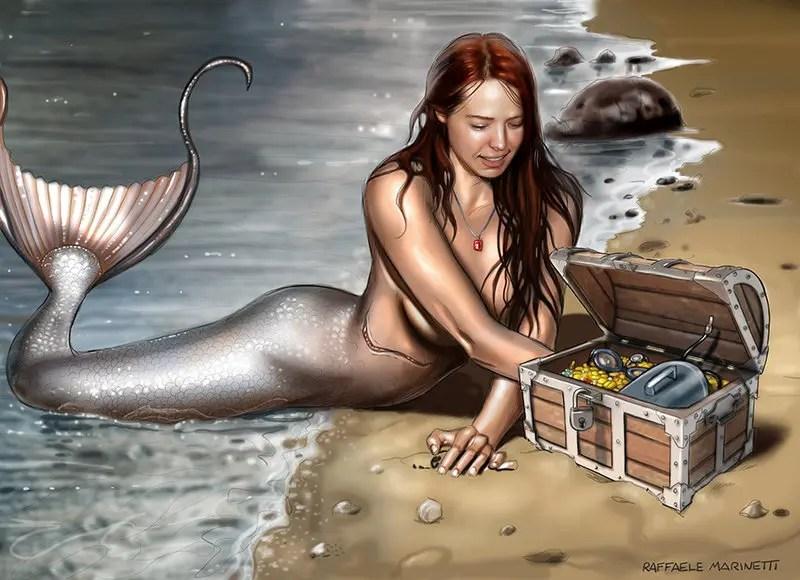Raffaele Marinetti-Ilustración-concept art-arte pin-up-007