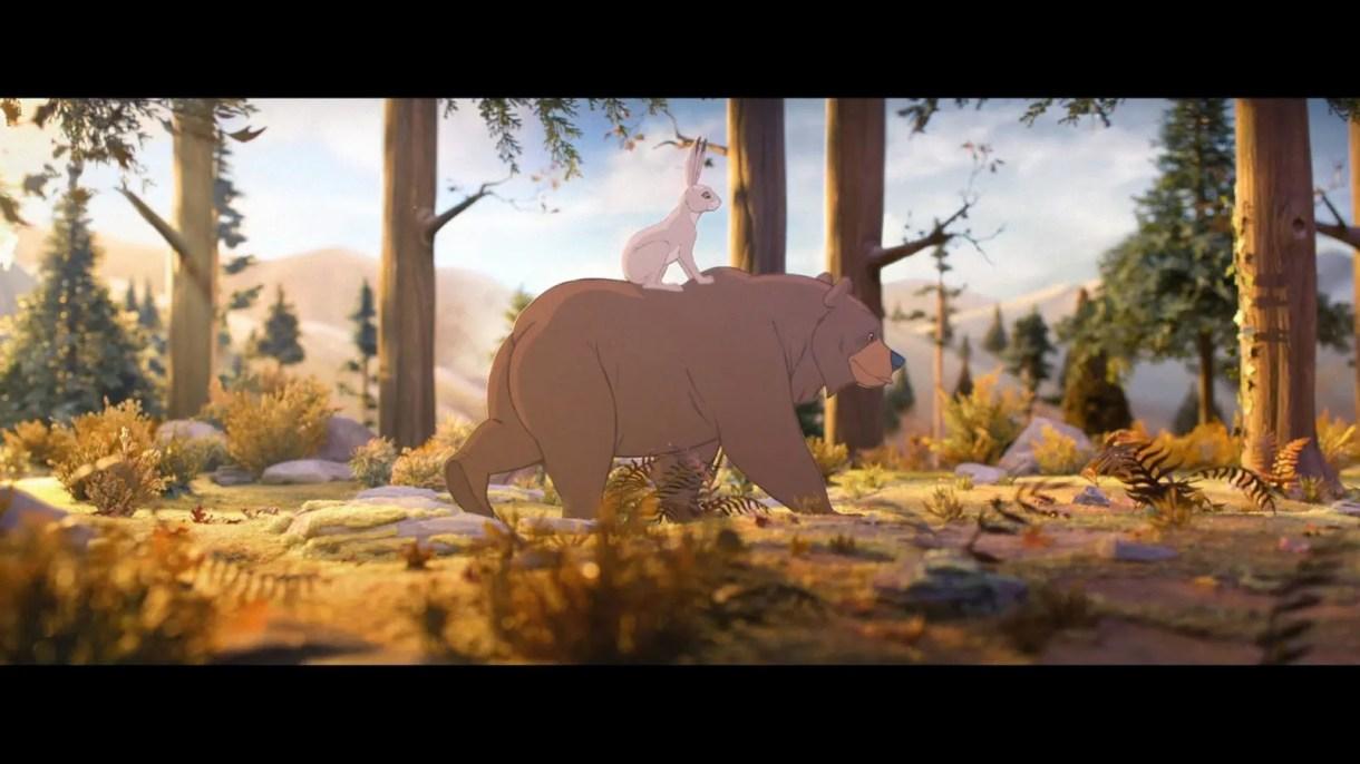 Cortometraje de Animación. Spot Navideño The Bear & The Hare
