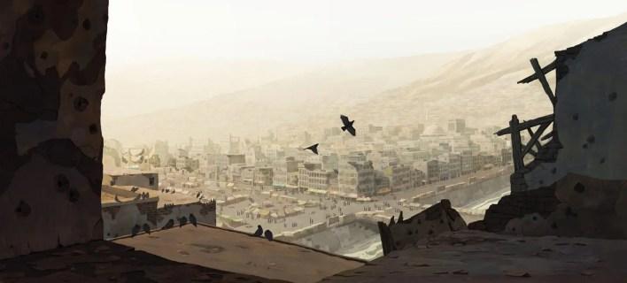 breadwinner- Concept art-Película de animación-2d