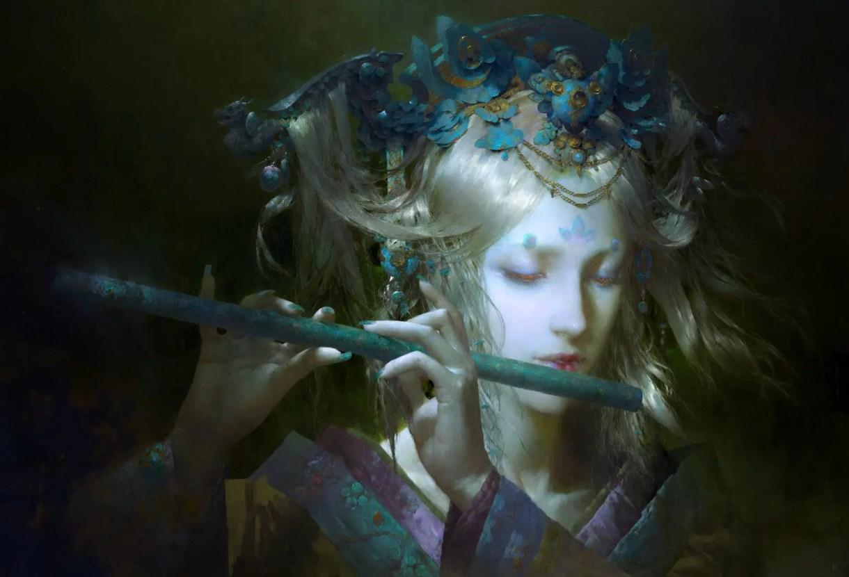 Tutoriales & Concept Art de Ruan Jia