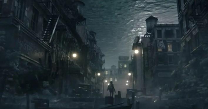 Cinemática-videojuego-The Sinking City