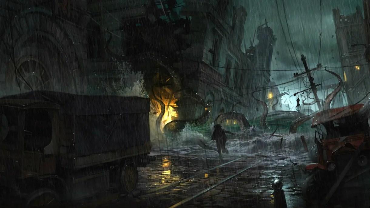 Cinemática y Gameplay The Sinking City- Death May Die
