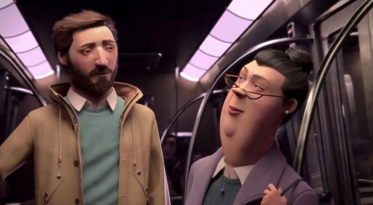 Cortometraje de Animación-3d-Méli-Métro