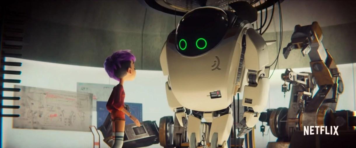 netflix Next Gen - La Nueva Generación Trailer Pelicula Animación 3d