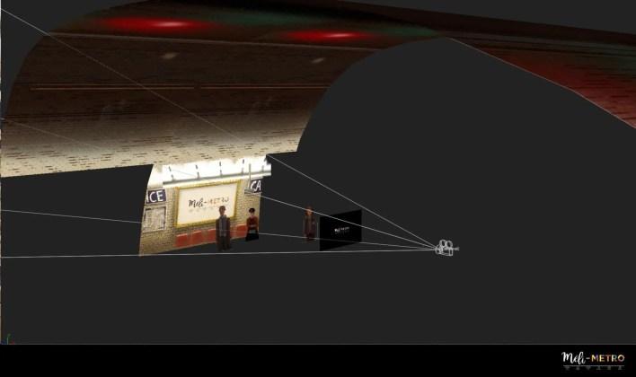 Méli-Metro corto de animacion