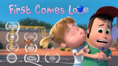 cortometraje de animacion First come love
