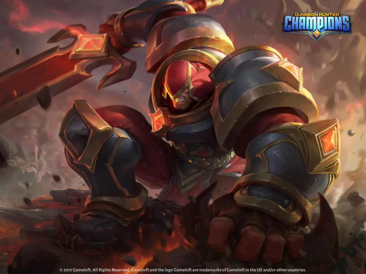 Videojuego-Dungeon Hunter Champions-Animación 3d-Trailer-