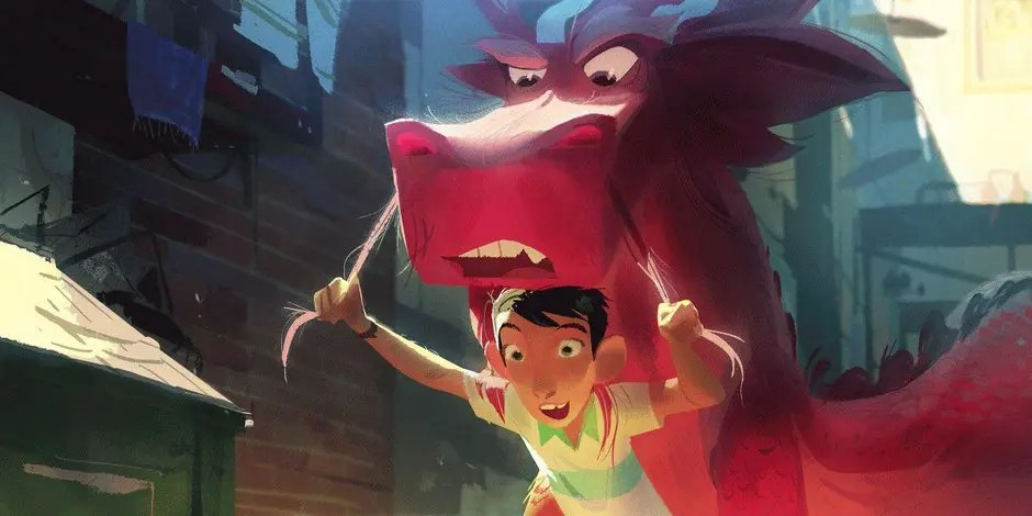 Wish Dragon Sony Pictures Animation