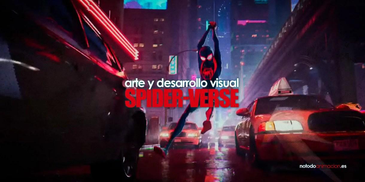 el arte de spiderman un nuevo universo desarrollo visual