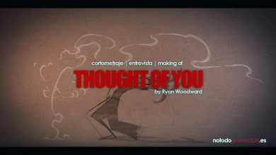 Thought of You Corto de Animación 2d