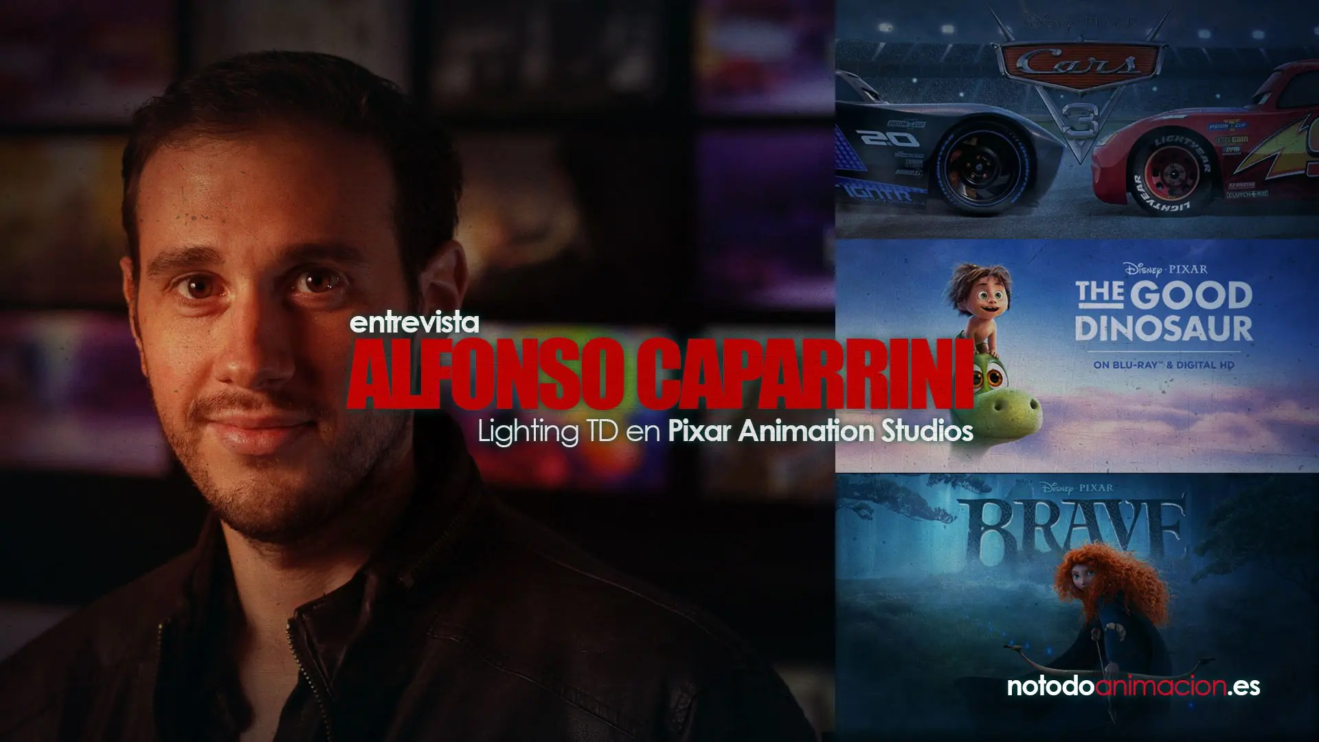 Entrevista a Alfonso Caparrini | Lighting TD en Pixar Animation Studios