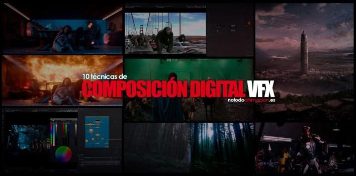 Tecnicas de composición VFX