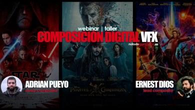 Photo of Webinar Gratuito | La Composición Digital en el cine de VFX