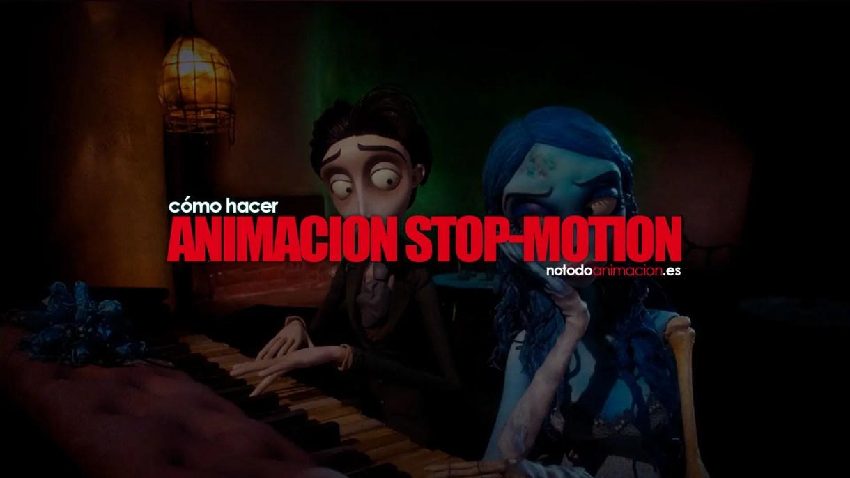 como hacer animación stop motion