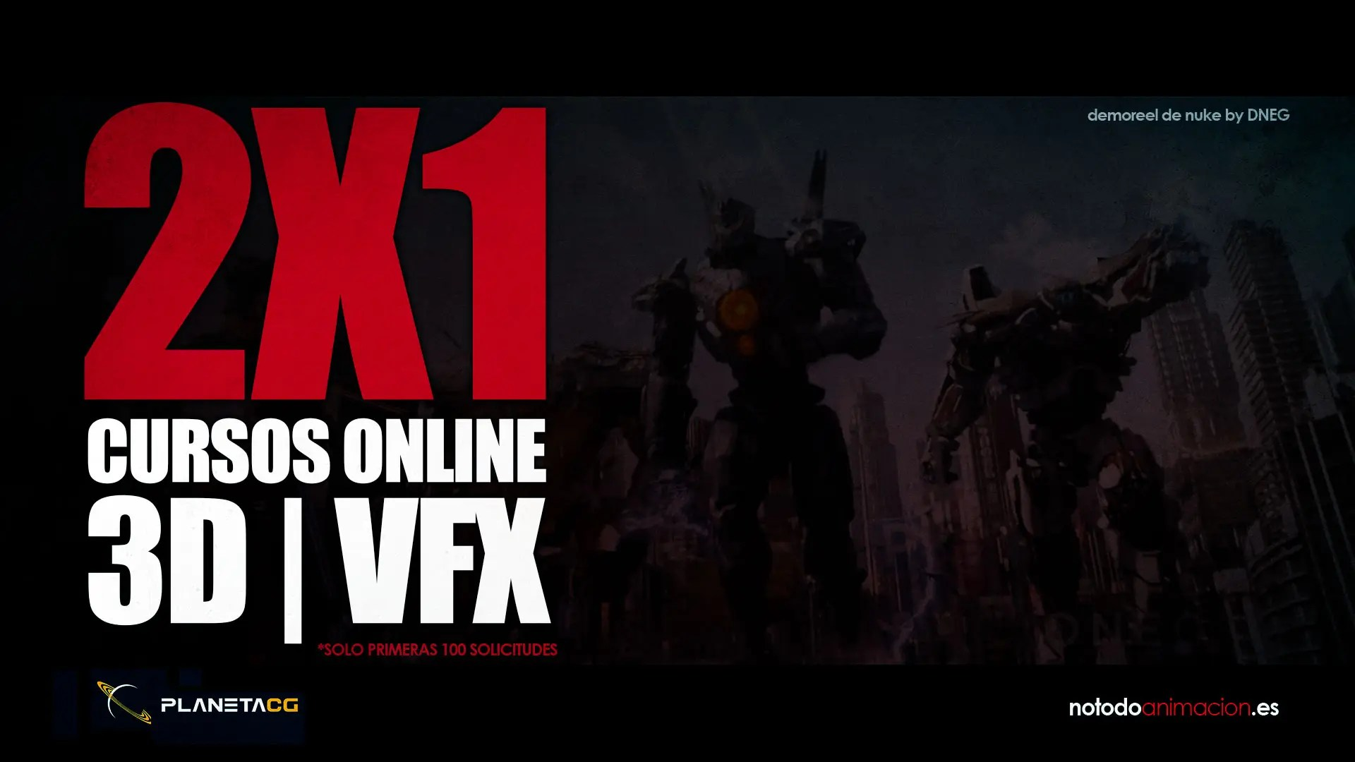 Cursos online de 3D, Animación, VFX, Houdini, Zbrush y Videojuegos | *AMPLIAMOS OFERTÓN 2X1