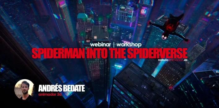 animacion 3d spiderman spider-verse