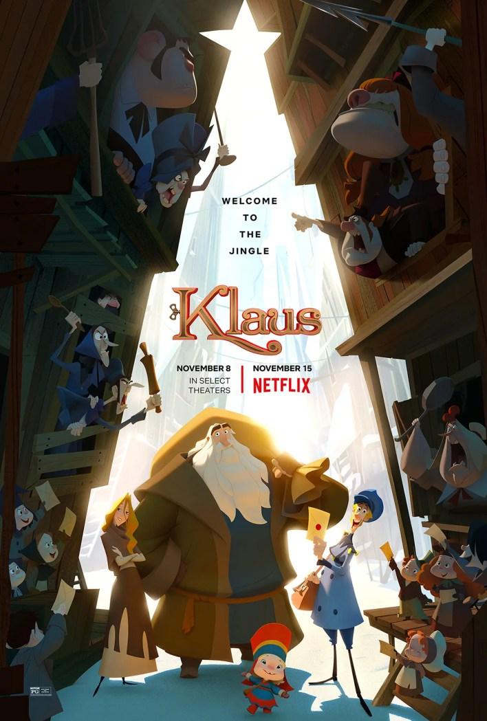 estreno klaus películas de animación