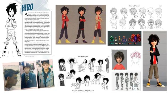 diseño de preproduccion personajes