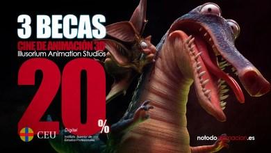 Photo of Máster profesional de Cine de Animación 3D Online | 3 BECAS