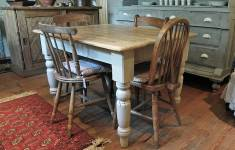 27 New Farmhouse Kitchen Table That Will Captivate You With Elegance
