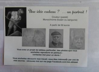 Carte visite Loïc Abisset