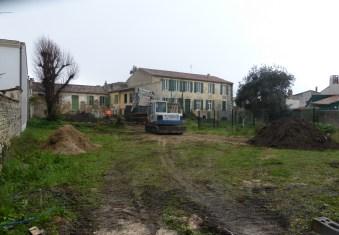 Ars - Arrière des maisons communales - 6 janvier 2015