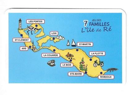 Jeu des 7 familles de l'île de Ré