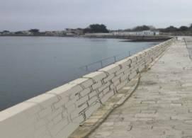 Port de la Flotte : projet murets