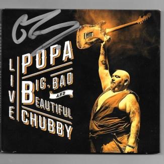 Programme Popa Chubby - Pochette CD.