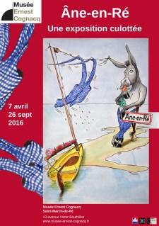 Affiche expo ânes - Musée de Saint-Martin