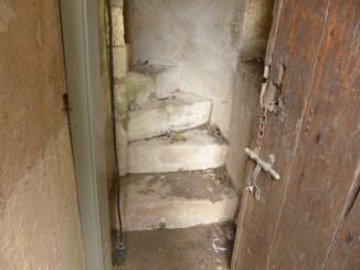 Porte Thoiras - Escalier de l'étage - 21 avril 2016