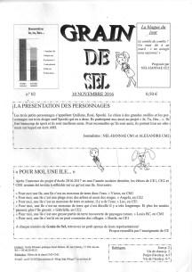 Journal de l'école d'Ars - N°2