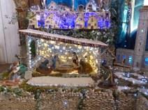 Crèche de La Couarde en galets - Décembre 2014