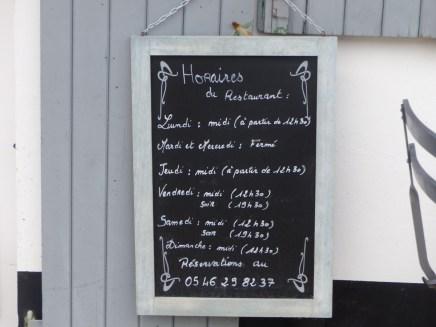 La Salicorne - La Couarde-sur-mer - mars 2017