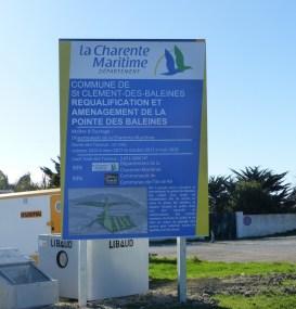 Aménagement Pointe Phare des Baleines - 5 avril 2017