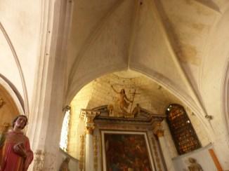 Ars-en-Ré - Travaux église -Arrière et intérieur - 9 avril 2017