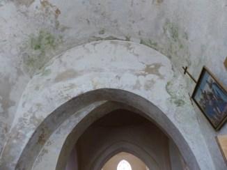 Ars-en-Ré - Travaux église - Etanchéité escalier - 9 mai 2017