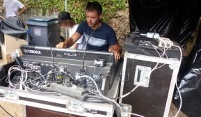 Jazz au Phare - Régie son Tremplin - 15 août 2017