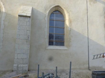 Ars-en-Ré - Vitraux église - 17 octobre 2017