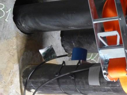 Pont de l'île de Ré - Réparation câble - Capteurs acoustiques - 20 décembre 2018