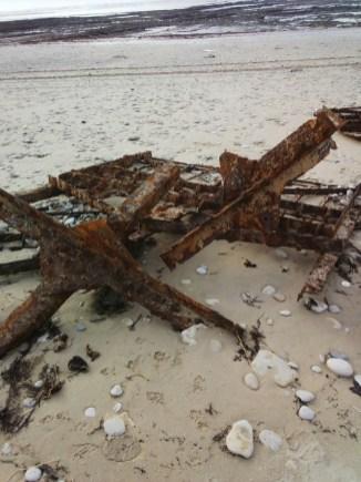 Déchets sur plage de Radia - Ars-en-Ré - 7 janvier 2014