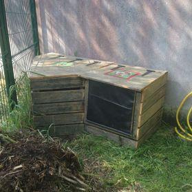 Composteur du jardin des écoles d'Ars-en-Ré