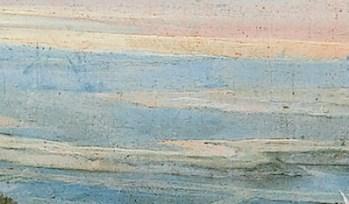 Laurent de La Hyre - Grand canal séparant l'isle de Ré d'avec l'isle de Loye