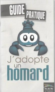 Formulaire 2014 d'adoption du homard