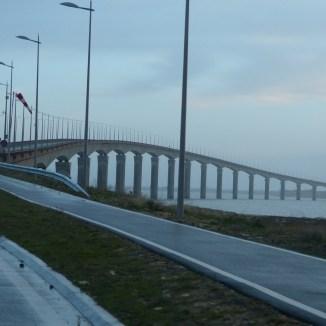 Pont de l'île de Ré - Matin du 9 février 2014