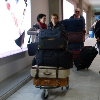 Les Amis d'Arbollé au départ de Bordeaux - 9 février 2014
