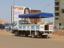 Ouagadougou, la voiture-école