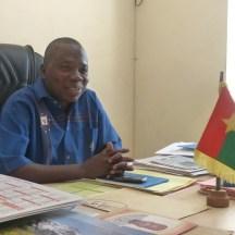 Billa Ouedraogou, maire d'Arbollé