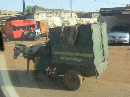 Scène de la vie quotidienne à Ouagadougou