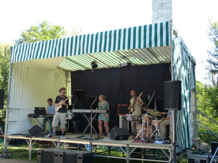 Jazz au Phare - Tremplin jeunes talents - Natural Salt Quintet - 19 août 2014